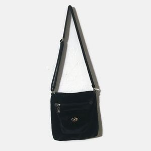 Black Velvet Crossbody
